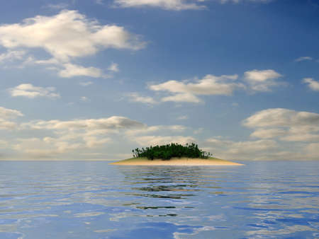 tropical island Stock Photo - 2891086