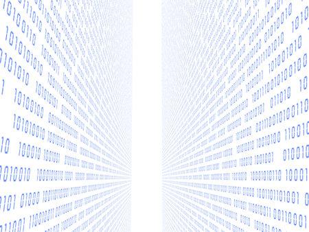 3d binary Reklamní fotografie