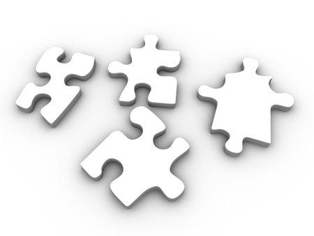 puzzle pieces Stock Photo - 2883435