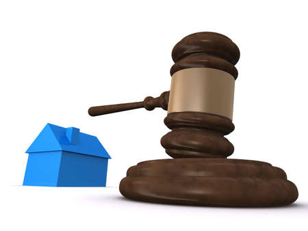 arbitrate: house and gavel