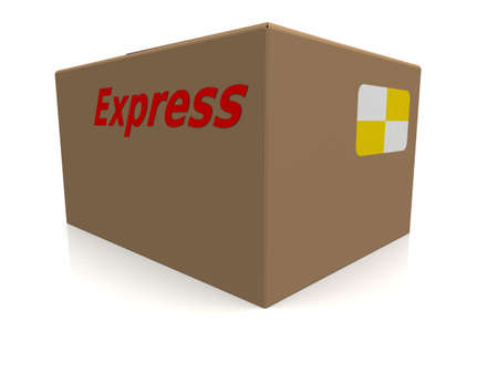 3d carton Imagens