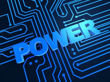 arobase: power illustration