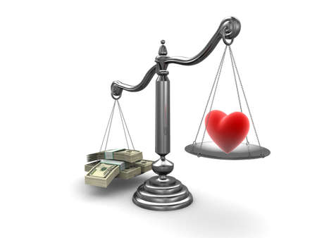 scale model: love or money