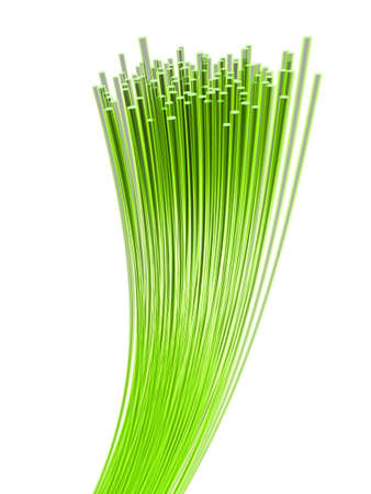 glas: glas fiber cables