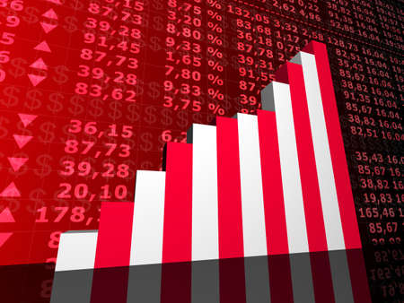 stock market and statistic Stock Photo - 2902500