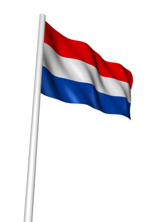 flag of the netherlands photo