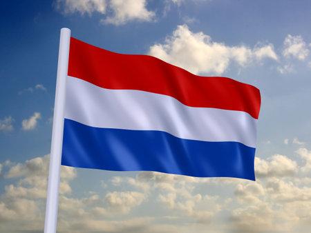 flag of netherland photo