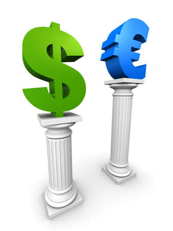fluctuation: dollar and euro