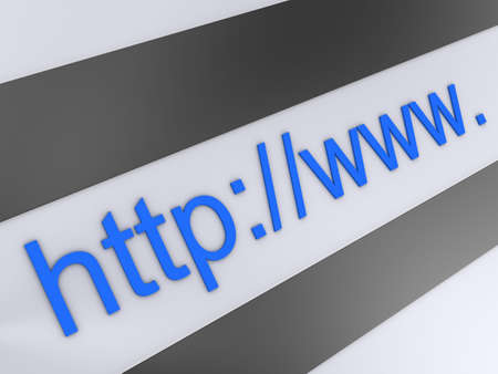 http address Stock Photo - 3054411