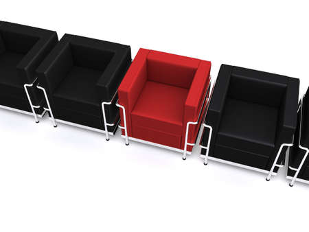 3d chairs photo