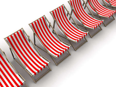 deck chairs Stock Photo - 3072676