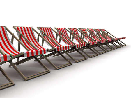 deck chairs Stock Photo - 3072671
