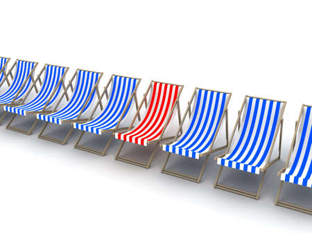 deck chairs Stock Photo - 3072679
