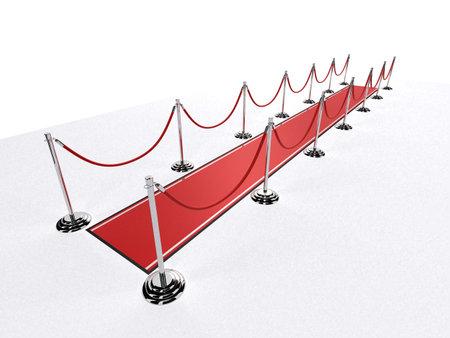 red carpet Stock Photo - 3095458