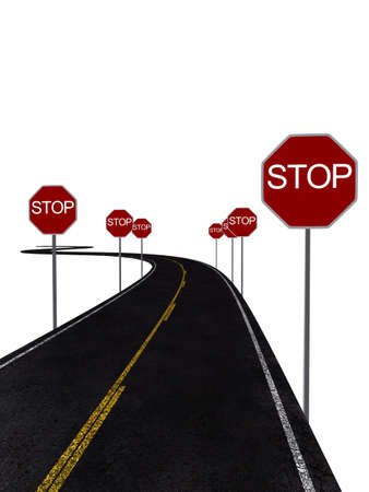 stop signs photo