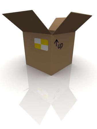 simple carton Stock Photo - 3118255