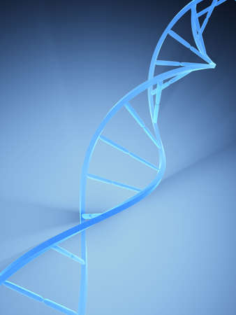 part of dna model Stock Photo - 3169988