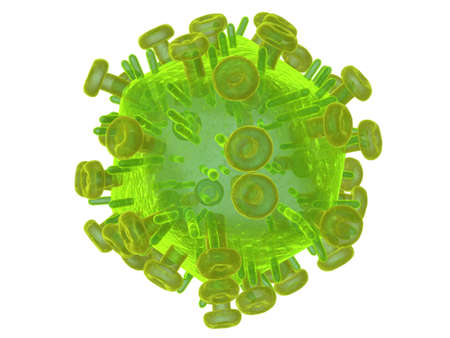 docking: hi virus Stock Photo