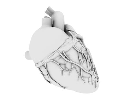 grey heart Stock Photo - 4696245