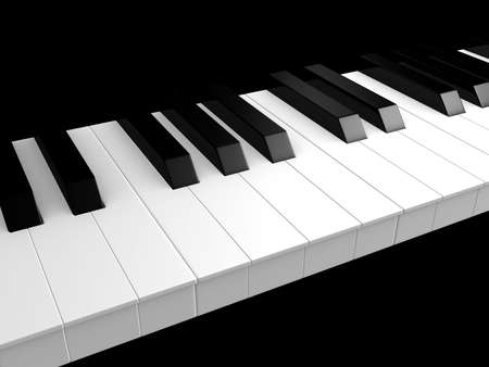 piano keys Stock Photo - 4696058