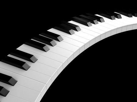 octave: piano keys