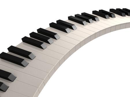 instrumental: piano keys