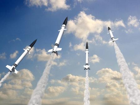 bombe atomique: missiles