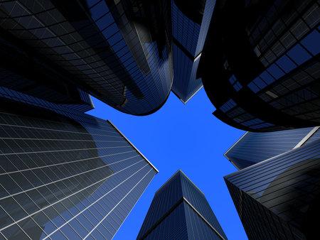 skyscrapers Stock Photo - 4696129