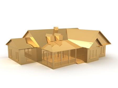 golden house photo