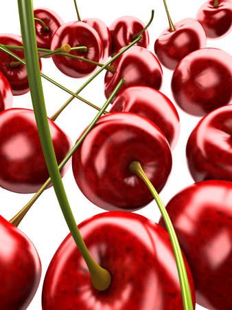 3d: 3d cherries