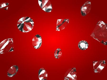 dearly: falling diamonds