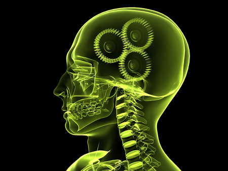 x-ray head with gears Stock Photo - 4683041
