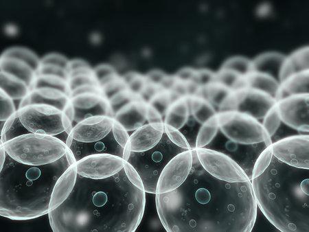 human pile: cellule umane Archivio Fotografico