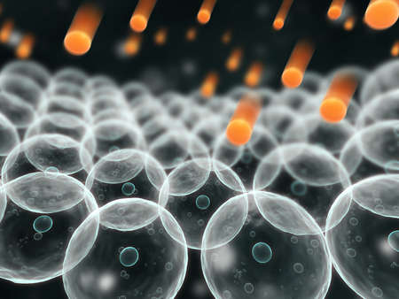 golgi: cells and free radicales