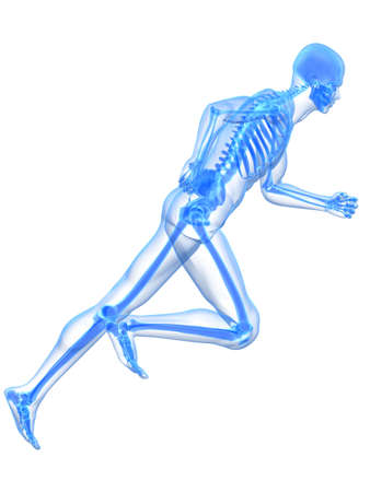 stamina: running skeleton