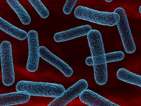 close up - bacteria Stock Photo