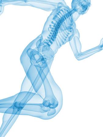 transparent jogger photo