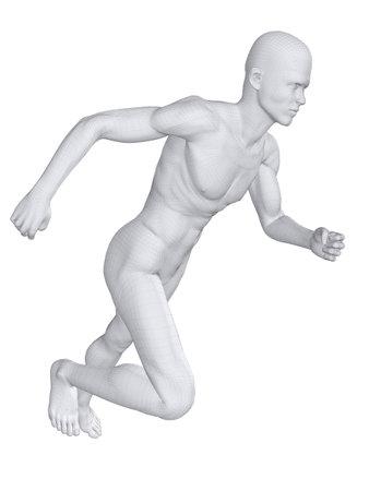 stamina: jogger - wireframe