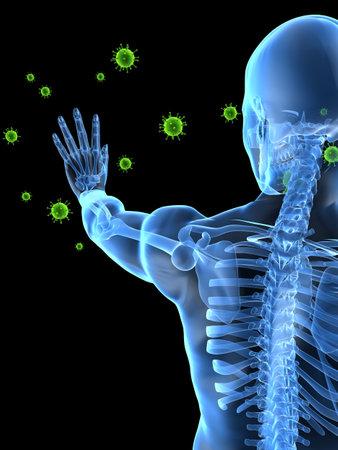 immunodeficiency: virus attack