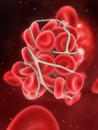 blood clot  Zdjęcie Seryjne