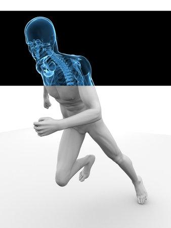 jogger: 3d model - jogger