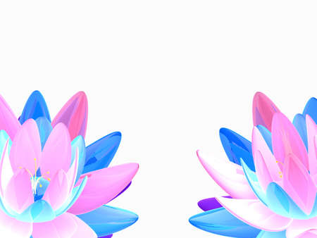 colorful lotus flowers Stock Photo - 7165054
