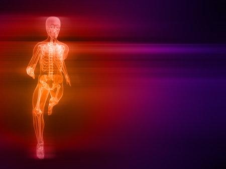 bloodstream: running skeleton