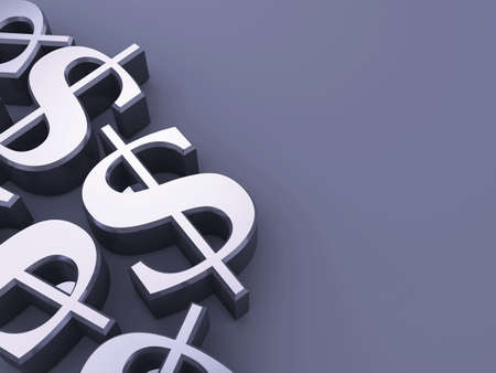 greenbacks: dollar signs