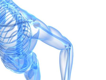 painful elbow illustration Stock Illustration - 11090629