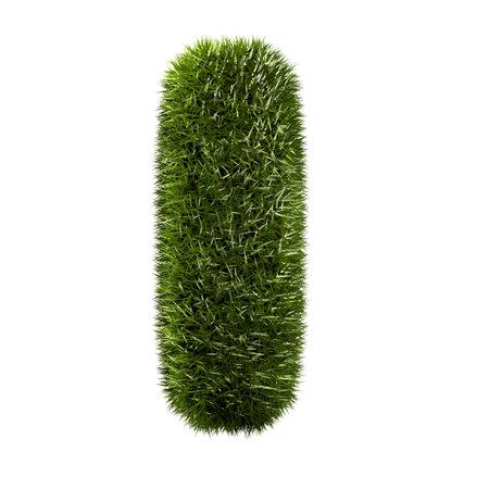 grass alphabet - I photo