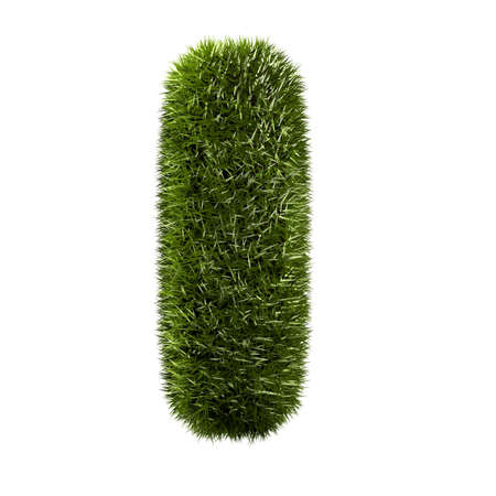 grass alphabet - I Stock Photo - 11090722