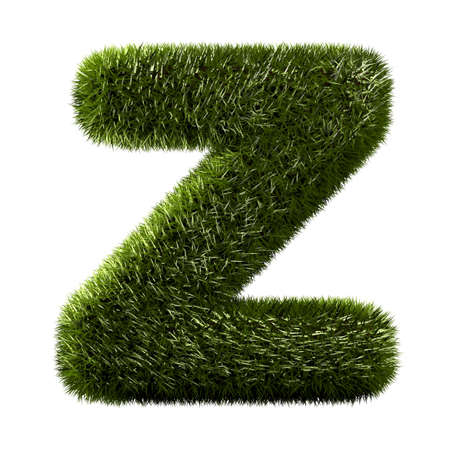 grass alphabet - Z  photo
