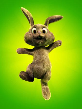 cuddly: cute bunny