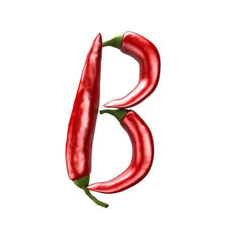 chili abc - B photo